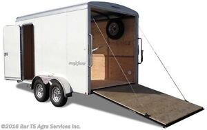 New 7x14 Cargo Trailer Great for Side by Sides
