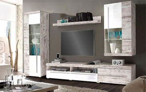 wohnwand antik ebay. Black Bedroom Furniture Sets. Home Design Ideas