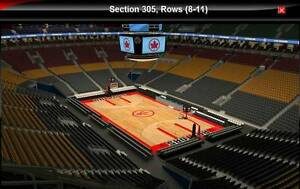 Raptors vs Pacers Game 7 NBA Playoffs Upper Bowl