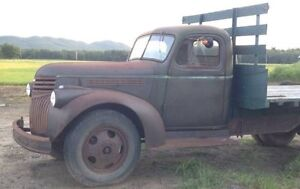 Looking for a old tilt bed truck!