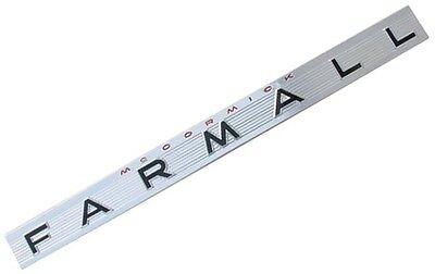 Mccormick Farmall Side Emblem For Farmall 460 560 Tractors.