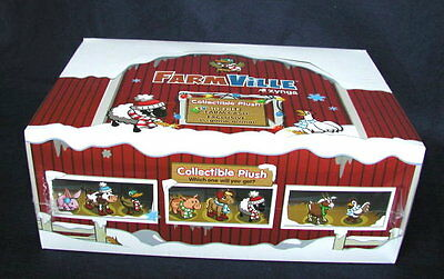 16   Farmville By Zynga Collectible Plush Animals   Sealed Box      160 Fv Cash