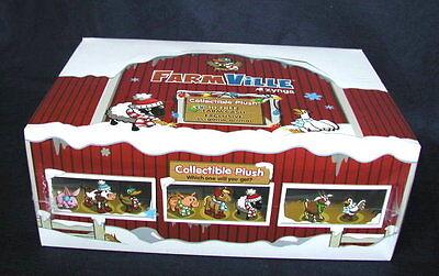 16   Farmville By Zynga Collectible Plush Animals   Sealed Box      160 Fv Cash