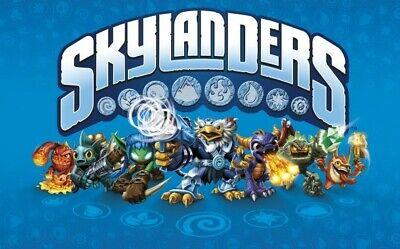 Skylanders Trap Team Characters - Kaos Undead Magic Fire Earth Air Tech FREE P&P