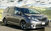 Wanted: 2011 to 2013 Toyota Sienna SE Pre dawn Mica only