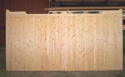 Driveway Gate Bespoke  Wooden Timber Gunstock Softwood Gates Driveway 84
