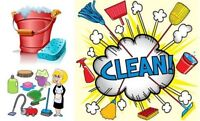 House cleaning services.