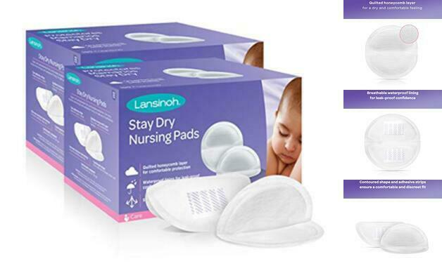 Stay Dry Disposable Nursing Pads for Breastfeeding, 200 count