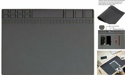 Large Soldering Bench Mat Silicone Heat Resistant Work Mat Project Mat Workbench