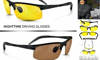 BLUPOND Set of 2 Anti-Glare HD Lens Clear Vision Sunglasses - Daytime Polarized
