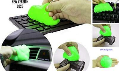 Keyboard Magic Dust & Dirt Cleaner Interior Cleaning Sticky Glue Clay Gel Laptop
