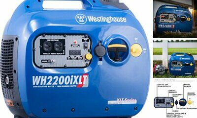 Westinghouse Wh2200ixlt Super Quiet Portable Inverter Generator 1800 Rated 220