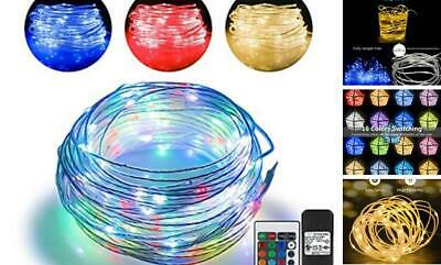 66ft Led Rope Lights Outdoor String Lights with 200 LEDs,16 Colors Changing Wate