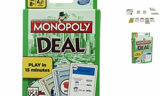 Monopoly Deal Card Game Standard Packaging Family  Debt Collectors Forced Deals