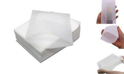 White Foam Packing Pouches Foam Wrap Sheets 100pcs 10cm X 15cm4in X 6in