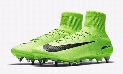 Mens Nike Mercurial Superfly V SG-Pro 831956-305 Green Brand New Size 10.5