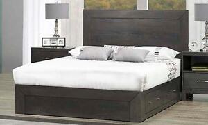 Solid Wood King, Queen, Double, Platform Storage Bed Frames- Beautiful Affordable Quality