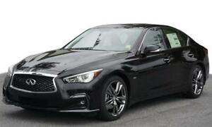 2019 Q50S 3.0T Signature Edition AWD - LEASE Takeover
