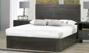 New! Solid Wood King, Queen, Double, Platform Storage Beds - Beautiful Affordable Quality