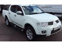 MITSUBISHI L200 2.4 2.5 DI-D BARBARIAN CrewCab WARRIOR TITAN FROM £51 PER WEEK!