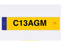 'CRAIG' Private cherished personalised personal registration plate number plate