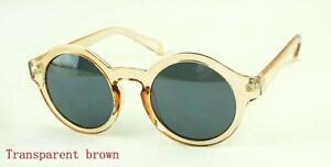 2014-Retro-style-round-frame-UV-400-Sunglasses-unisex-plate-full-frames-eyewear