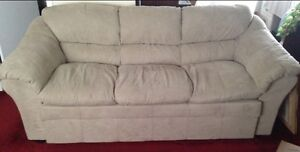 Beige couches for sale - must go ASAP Windsor Region Ontario image 1