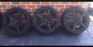 """A full set of 4, HP Design wheels in 19"""" Mount Annan Camden Area Preview"""