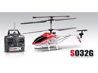 Syma S032 Gyro S032G 3.5-Ch Metal Rc Helicopter