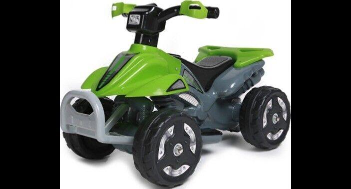 ecc3ce44f Kids Ride On 6V Battery Powered ATV Quad - Green new boxed