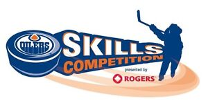 OILERS SKILLS COMPETITION