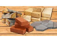Wanted: Wood, large stones or bricks, paving stones ect