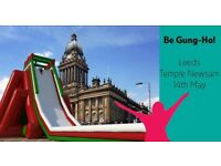 Gung Ho! Inflatable obstacle course ticket Leeds 19th May