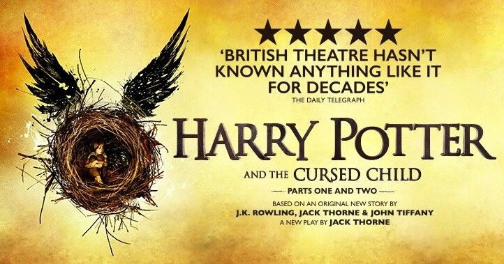 Harry Potter and the Cursed Child Parts 1 & 2 Theatre Tickets, Sunday 15th October
