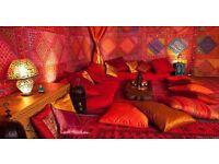 Moroccan plastic rugs!