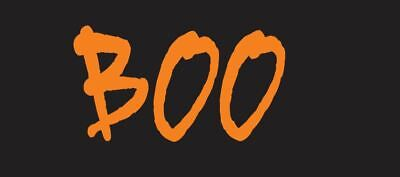 BOO Halloween T Shirt Logo Patch Costume Idea Scary - apply to your shirt