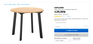 Table Ikea GAMLARED