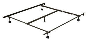 Queen/double size Metal Bed Frame, with centre support