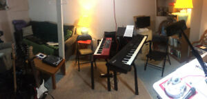 Practical piano lessons with working professional