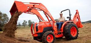 2018 Kubota L4701HST Utility Tractor