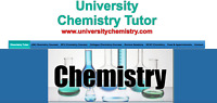 University Chemistry Tutor at www.universitychemistry.com