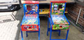 FIAM Gumball flipper machines