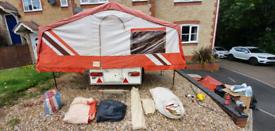 Pennine aztec folding camper