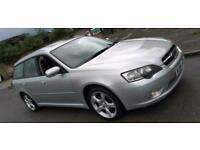 2004 SUBARU LEGACY LONG MOT 2.5 AUTO PETROL AWD 4X4 CHEAP CAR BARGAIN PX POSS