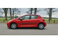 2010 Peugeot 207 1.4 16v S 5dr [AC] 2-Tronic HATCHBACK Petrol Automatic