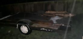 Caravan trailer chassis galvanized