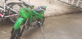 Kids mini motorbike