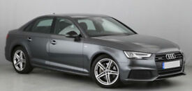 Audi A4 quattro S Line FROM £114 PER WEEK!