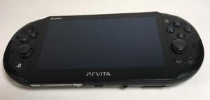 Console Sony Playstation PS Vita 2001 noir / Black PS Vita 2001