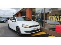 2011 Volkswagen Golf 1.2 TSI S 2dr Convertible Low Insurance CONVERTIBLE Petrol